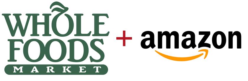 Amazon and Whole Foods Logo