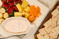 Just three ingredients and you can serve this Yogurt Fruit Dip with just about anything for a snack that feels healthier.