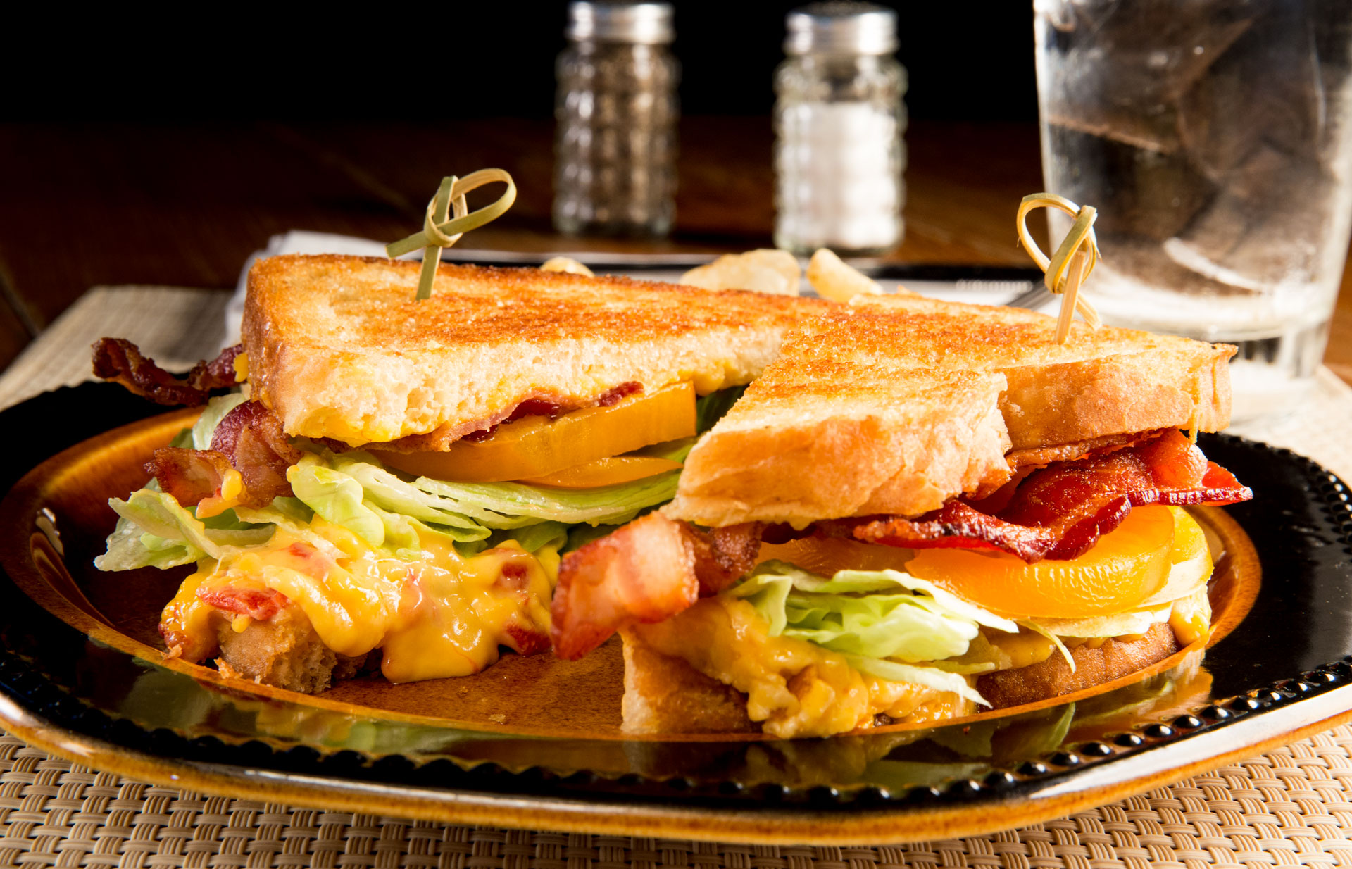 Nothing speaks comfort food like a grilled cheese sandwich with a twist. This version, created by the chefs of The Food Channel featured pimento, Tobasco and sharp cheddar cheese.