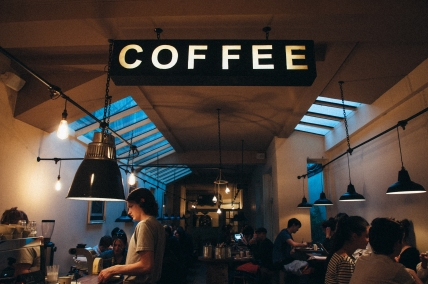 photo of people in a coffee shop