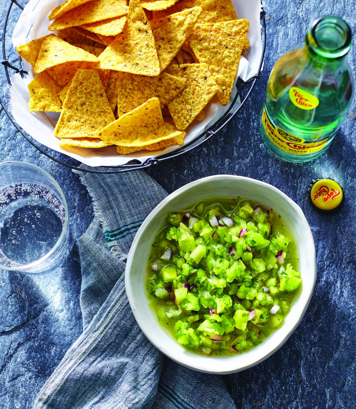 Use this Green Tomato Salsa Verde straight up as a sauce for enchiladas, or stir it into a cheese dip or your morning breakfast burrito filling! It's simply delicious.