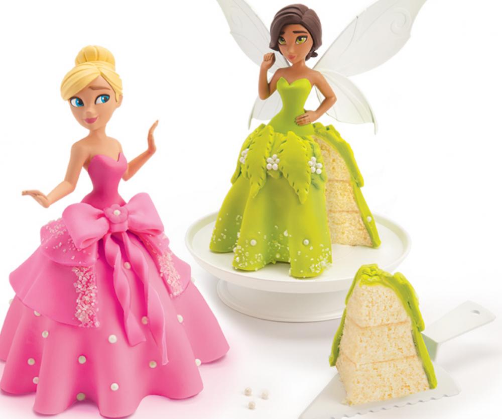 photo of finished princess cakes