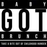 logo for the Indianapolis Baby Got Brunch annual event to raise funds to end childhood hunger