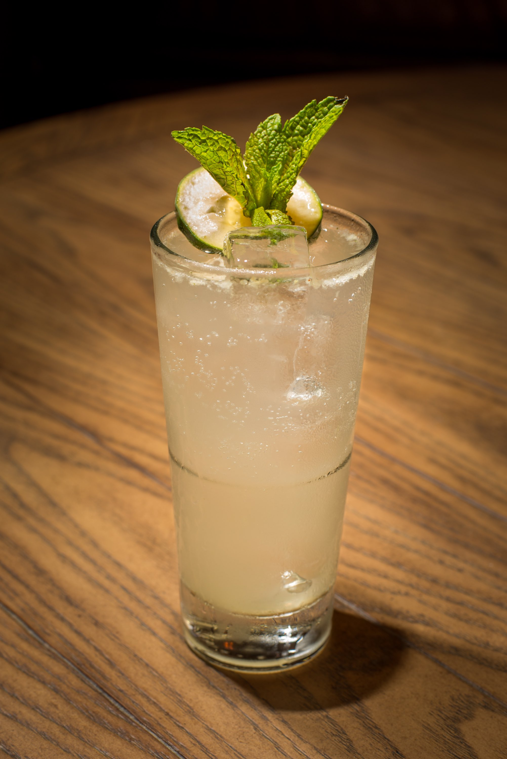 Jezebel Bar + Kitchen/Cucumber Mint Collins/Photo Credit: Jezebel Bar + Kitchen