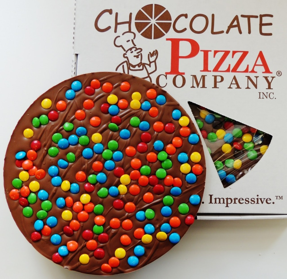 Candy Topped Chocolate Pizza/16 oz/Chocolate Pizza Company