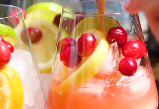 Fruity and flavorful sangria is always the hit of the party. Be the hero of your next bash by making this beer-y rendition of fall-inspired sangria using UFO CRANBeeRY!
