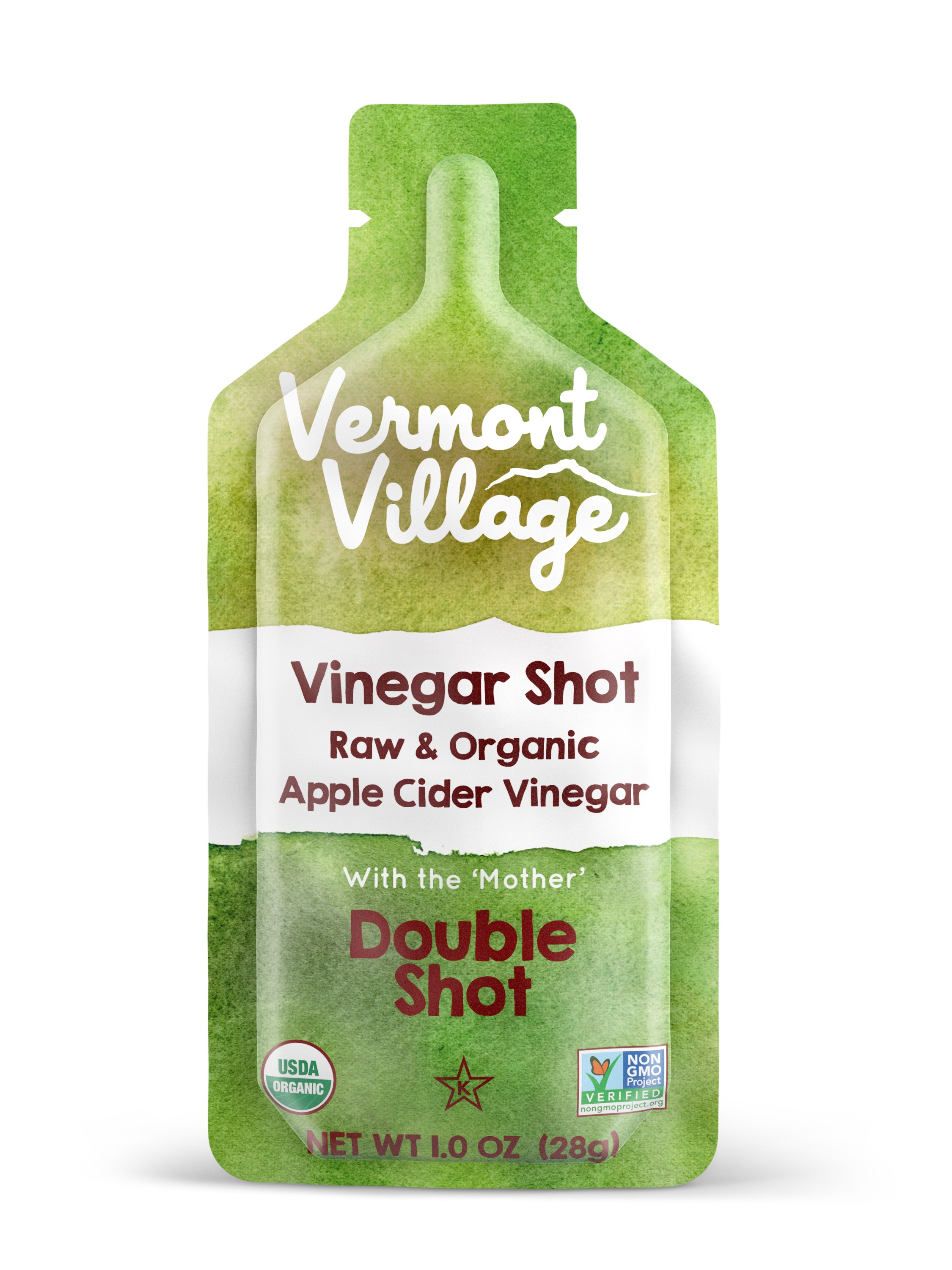 Raw Organic Apple Cider Vinegar Shot/Vermont Village