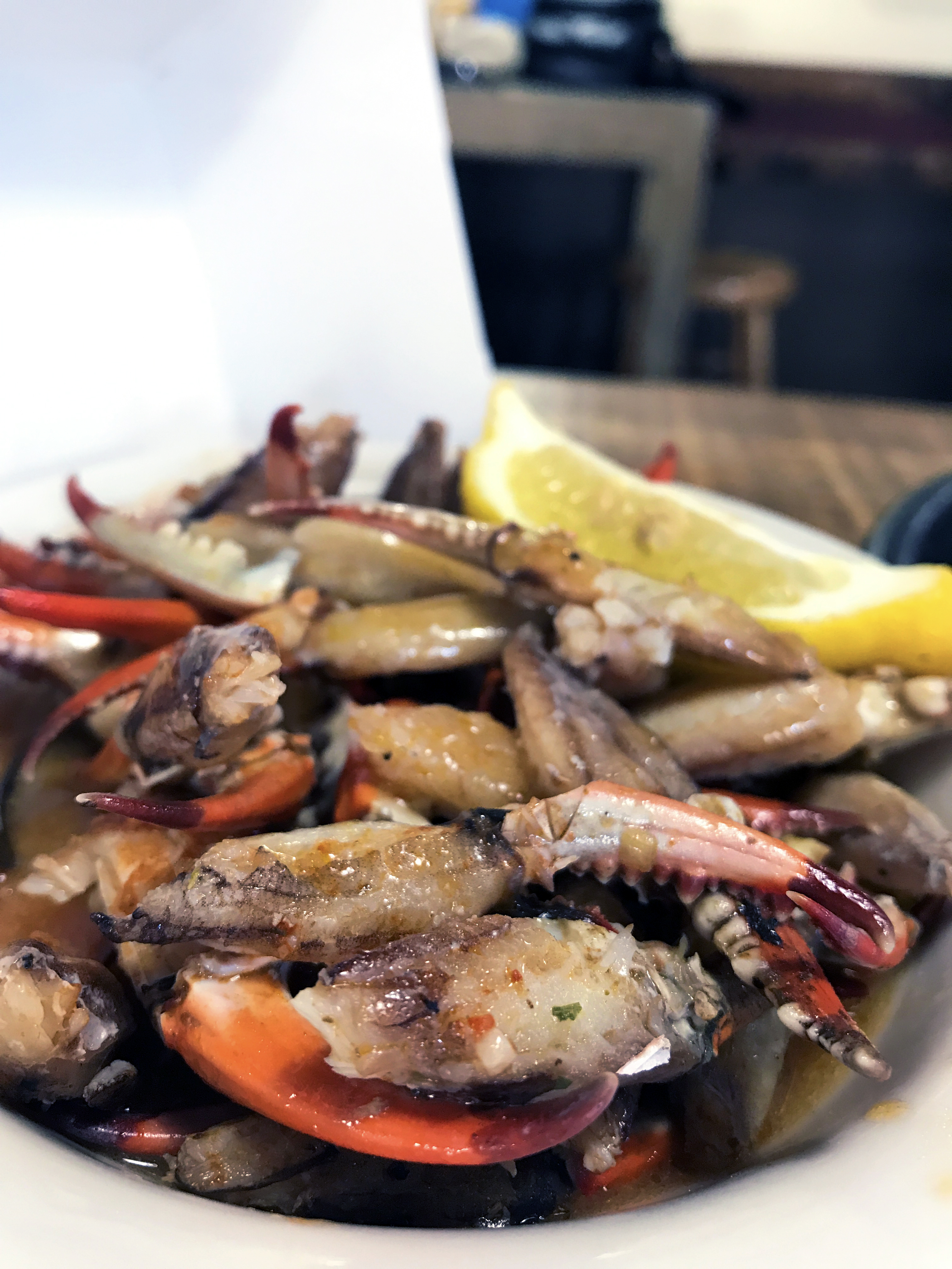 Marinated Blue Crab Claws from Gulf Shores Steamer//Kaitlan Foland