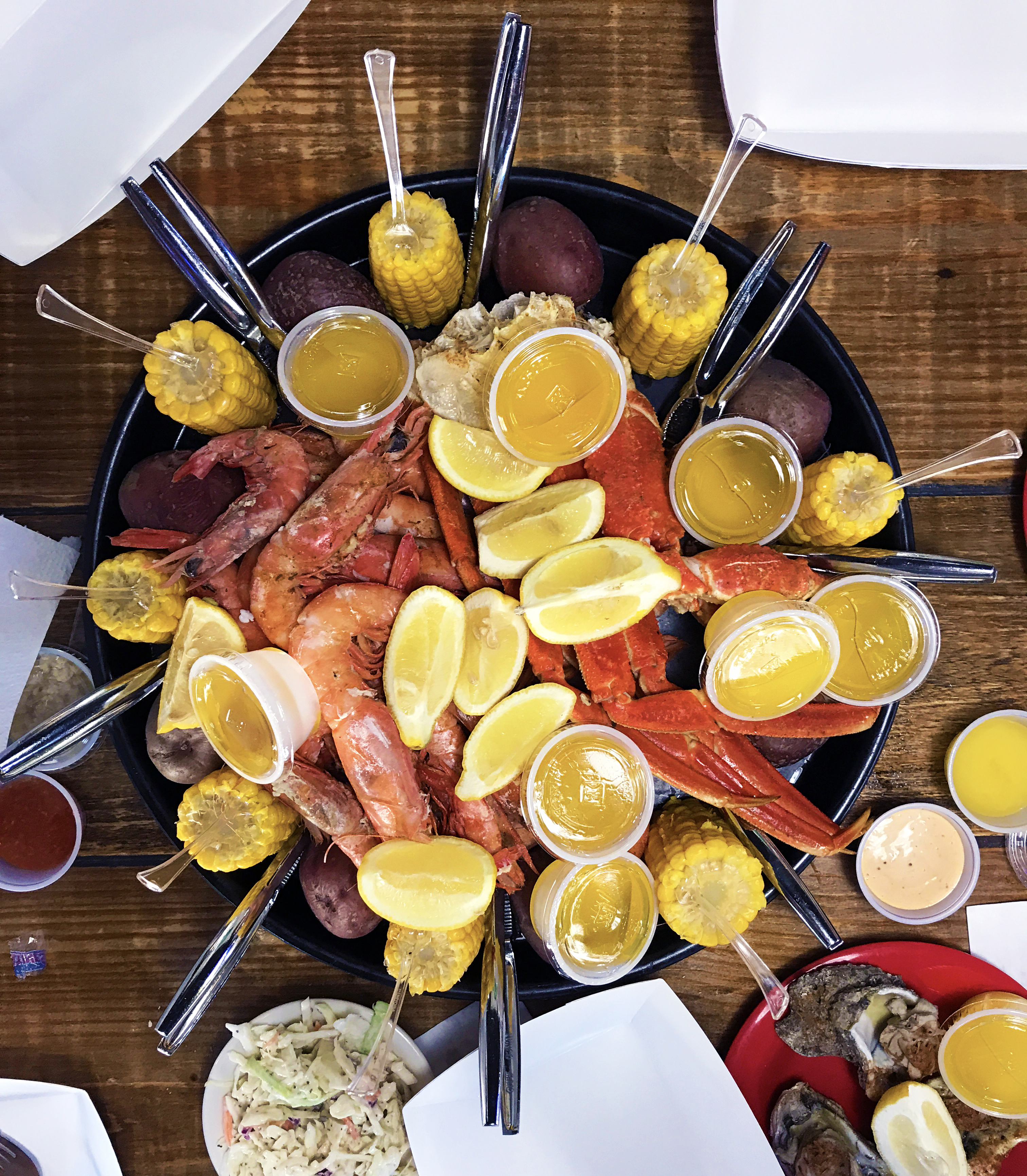 Shrimp and Crab Combo Platter//Kaitlan Foland
