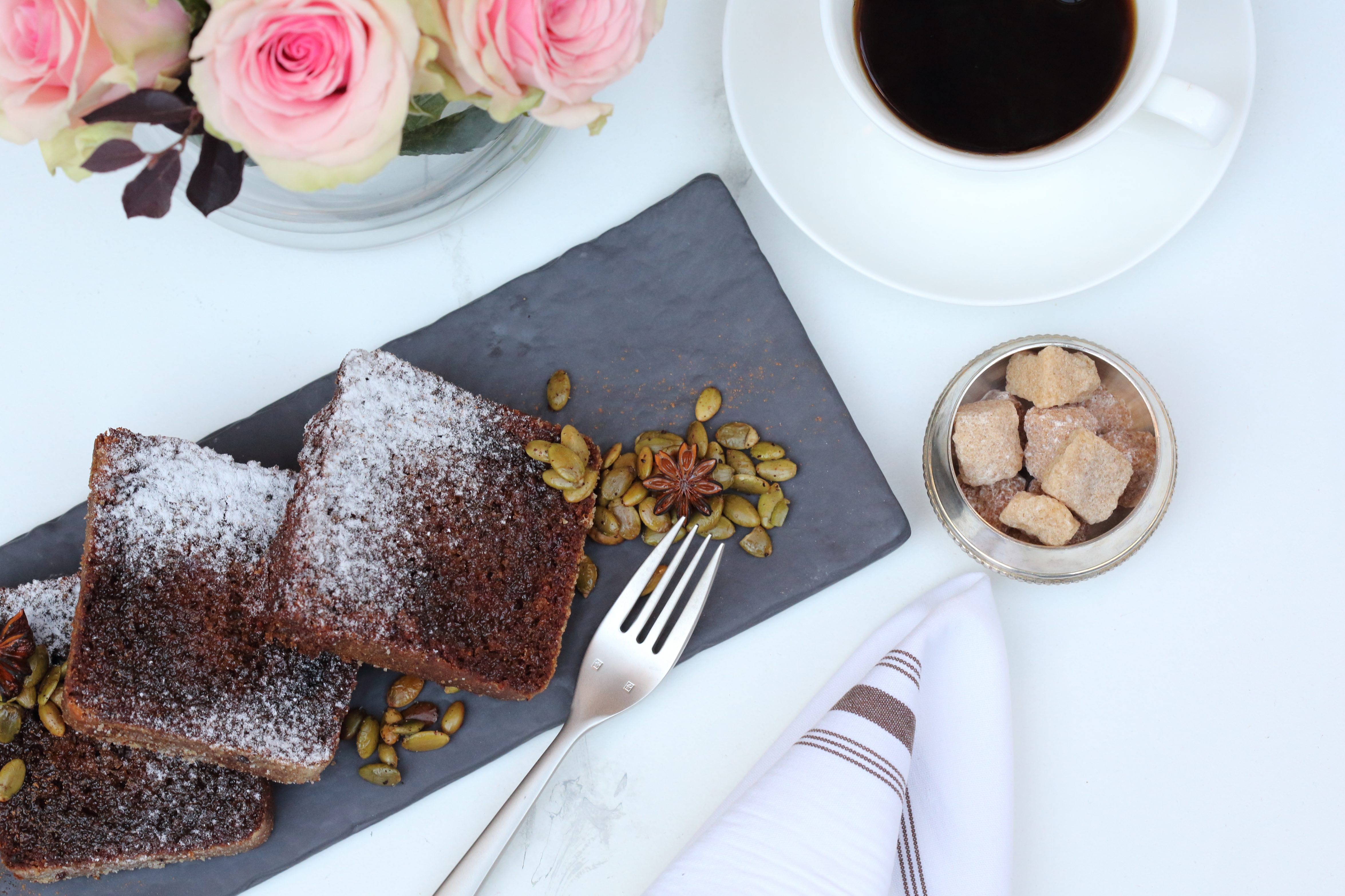 Created by Pastry Chef Annika Loureiro, the Cherry Cola Spice Cake perfectly balances sweet and savory with notes of cherry and Coca-Cola, ginger, cinnamon, allspice and Szechuan pepper. Please find the full recipe below and click here for a high-res image of the cake.