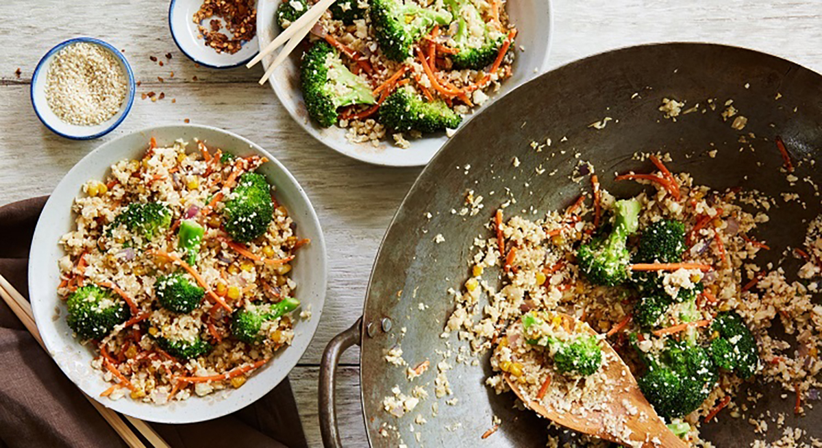 Cauliflower Fried Rice by Terra's Kitchen