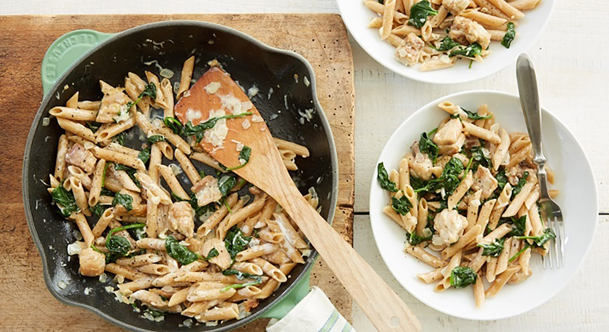 Italian Chicken Florentine Pasta by Terra's Kitchen