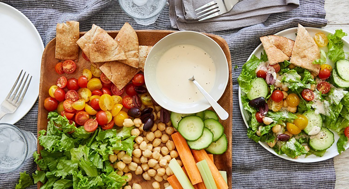 Mediterranean Mezze Salad by Terra's Kitchen