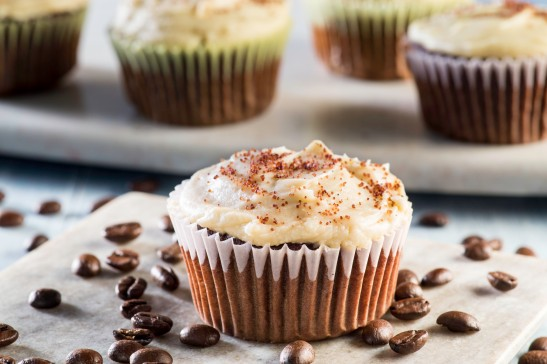 These decadent cupcakes are a winning combination of rich coffee-infused craft beer, chocolate cake, and cold-brew coffee buttercream. This is a half-scratch recipe that can be adapted to taste and will fill the kitchen with a wonderful coffee aroma while baking!
