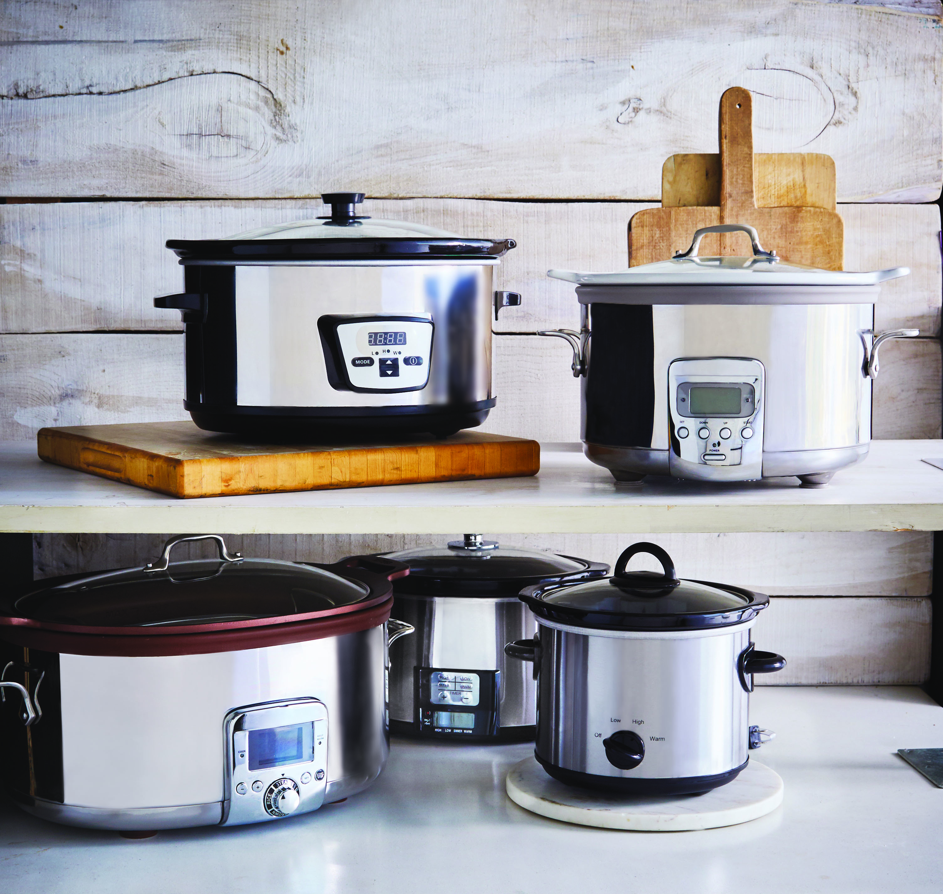 Slow Cookers from Stock the Crock by Phyllis Good