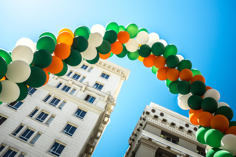St. Patrick's Day Rainbow by Sonny Abesamis via Flickr