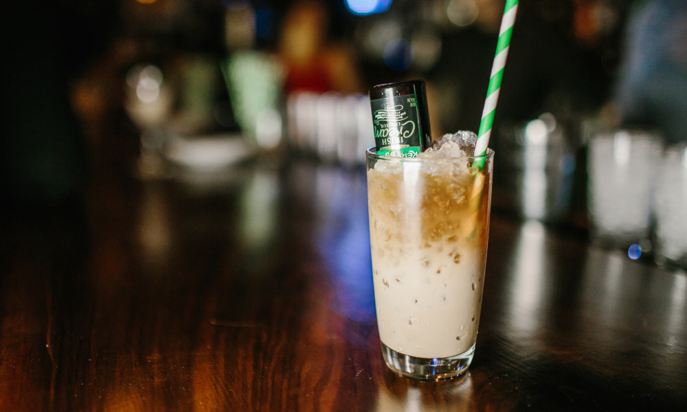 This Mint Mocha Spiked Coffee is made with a creamy, rich Kerrygold Irish Cream Liqueur, Brancamenta and your favorite type of cold coffee. It's deliciously refreshing any time of the day.