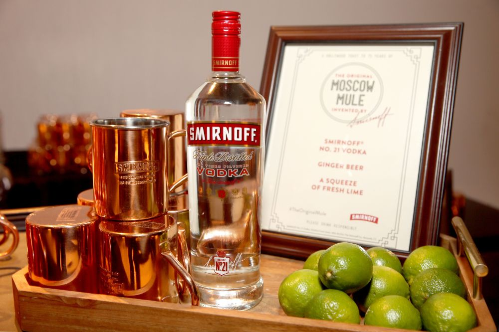 Smirnoff brings it back to the 1940s with an experiential dinner to tell the story of its invention of the iconic cocktail, the Moscow Mule, on October 19, 2016 at Mack Sennett Studios in Los Angeles.