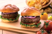 A perfect substitution for hamburger patties, but still considered a burger in our world. This recipe for All-American Lamb Burgers combines the flavors of fresh ground lamb, balsamic vinegar, garlic, and herbs and spices, resulting in a mouthwatering juicy burger that your guests will love.