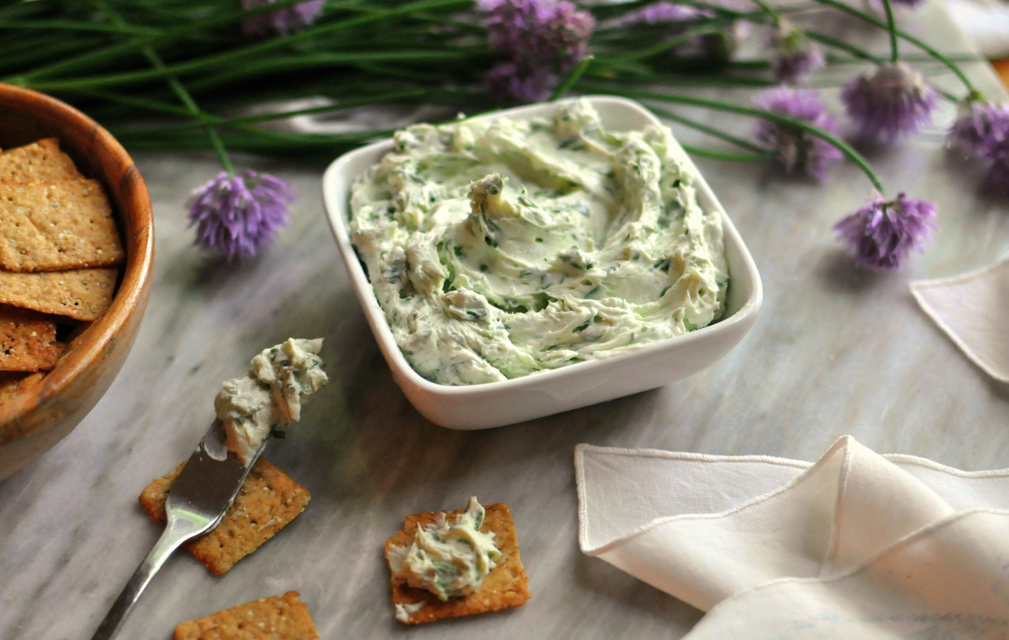 Chive Cheese by Laura Kurella