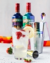 The Smirnoff Love Wins cocktail is made with a special edition vodka that features photos of real couples that were selected in a global photo contest to celebrate pride month in June.