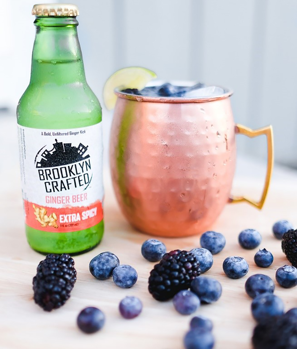 Red, White, and Blue Berry Mule by Brooklyn Crafted