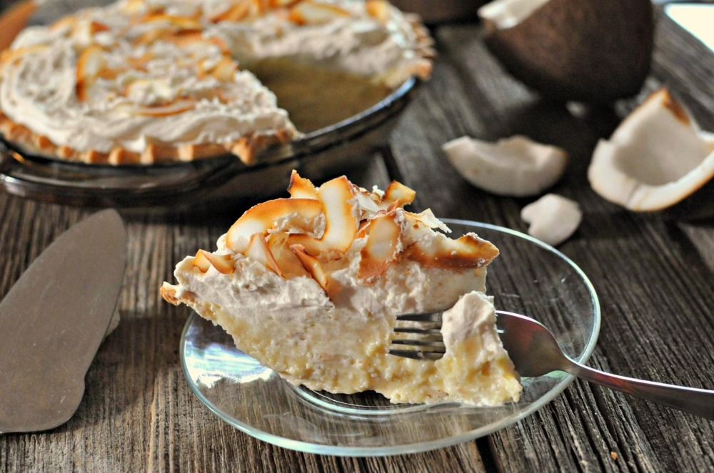 Coconut cream pie by Laura Kurella