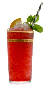 Bajan Punch made with Mount Gay Rum.