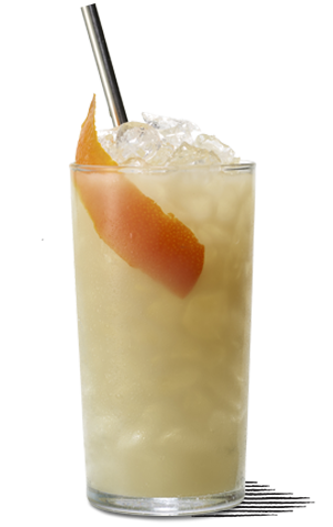 Shore Leave cocktail made with Mount Gay Rum.