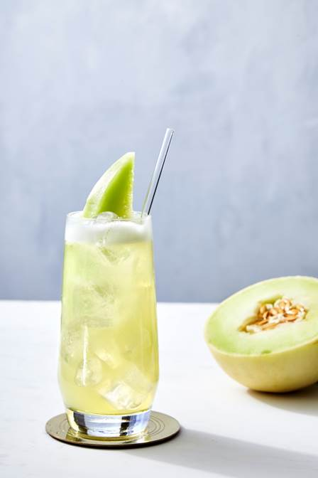 The colada limitada cocktail made with ciroc summer colada, fresh lime juice and agave nectar.