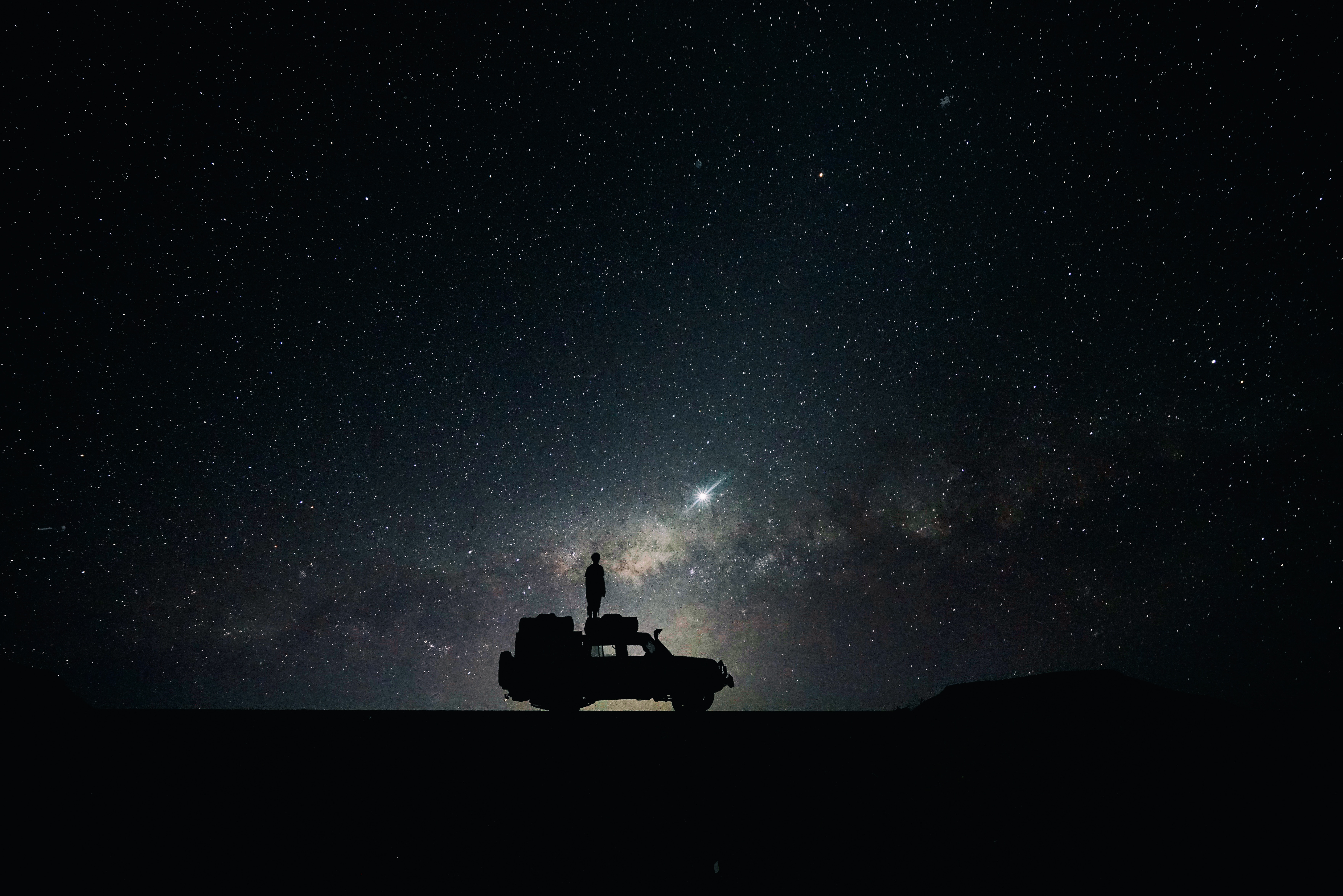 """Meteors, also known as """"shooting stars"""" and """"falling stars,"""" are created when bits of debris from asteroids and comets enter the earth's atmosphere and begin to glow as they heat up from friction."""