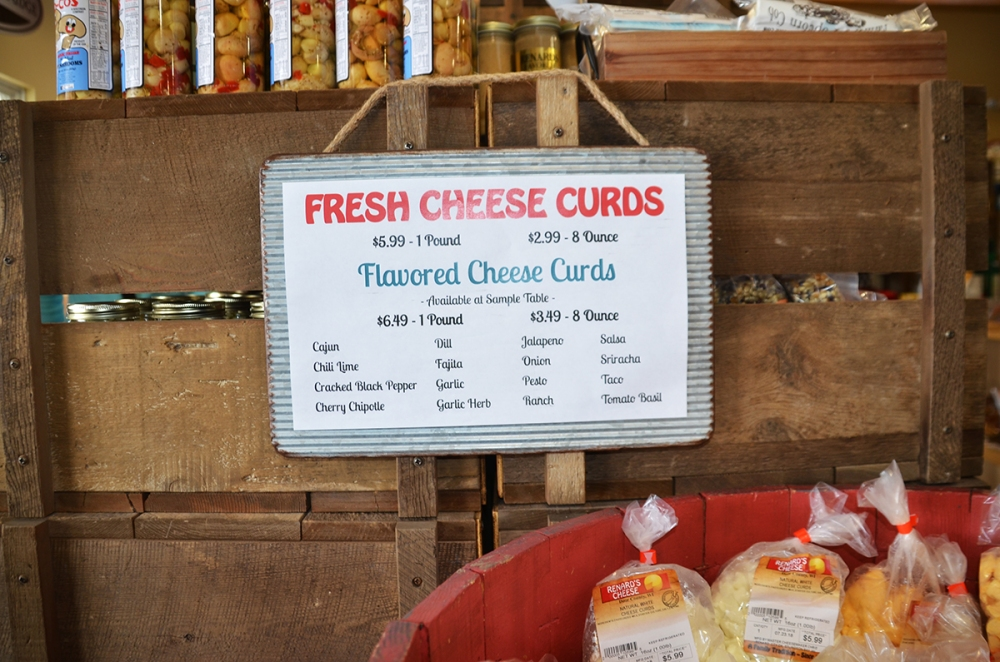 """Then, of course, there are the Wisconsin cheese curds—those fresh curds that natives crave and others tentatively try, surprised by both the rubberiness and the """"squeak"""" that signifies maximum freshness."""