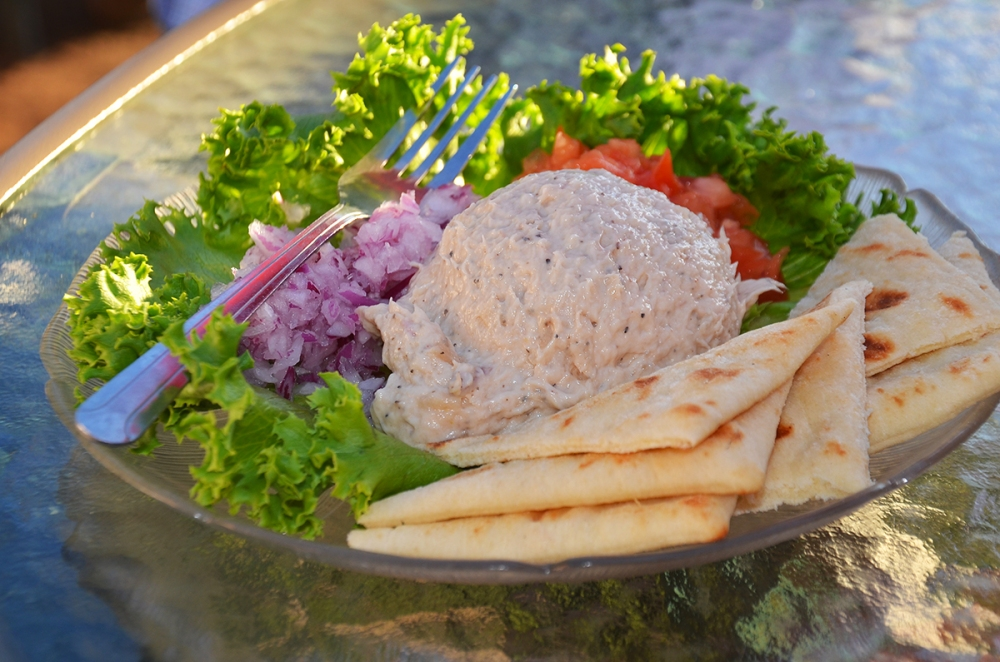 The famous Little Sister Smoked Fish Paté from Fred and Fuzzy's Restaurant.
