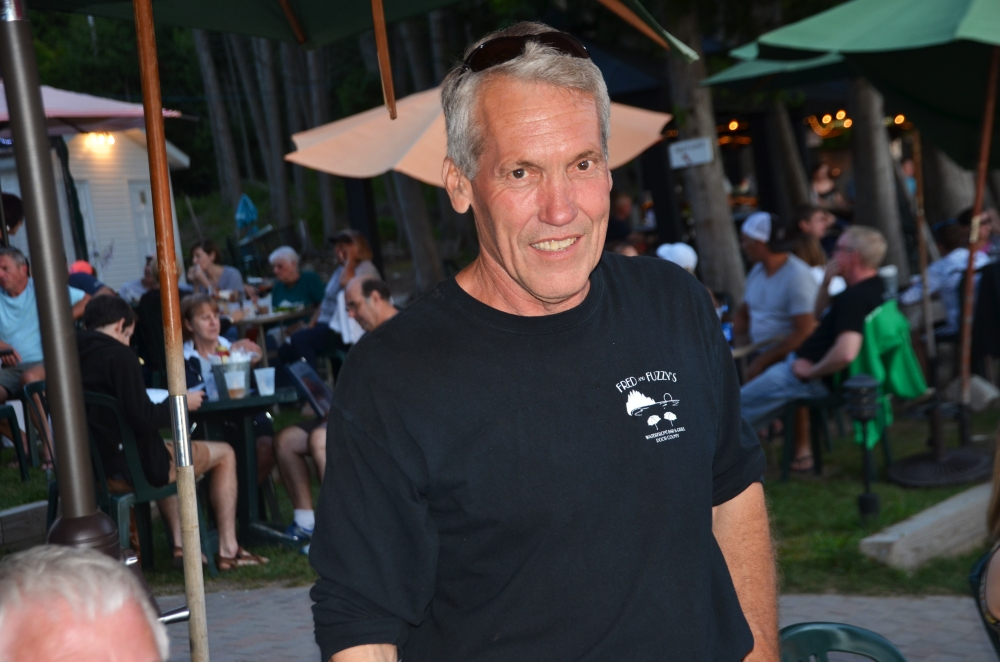 Greg Sunstrom, proprietor of Fred and Fuzzy's Restaurant in Door County, Wisconsin.