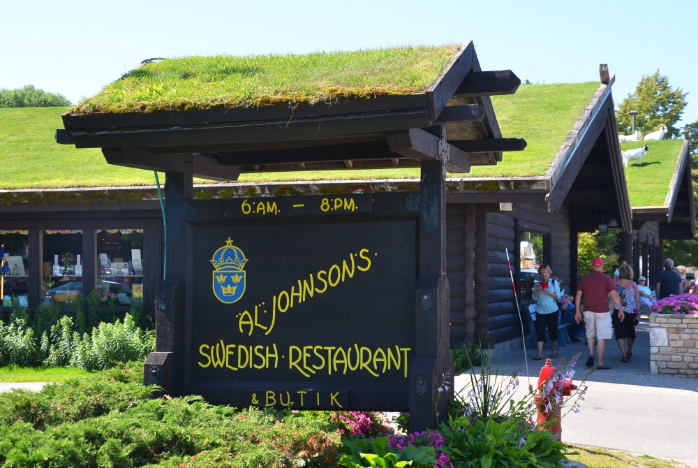 Stop by Al Johnson's Swedish Restaurantto try a bite or just take a photo of the goats on the roof