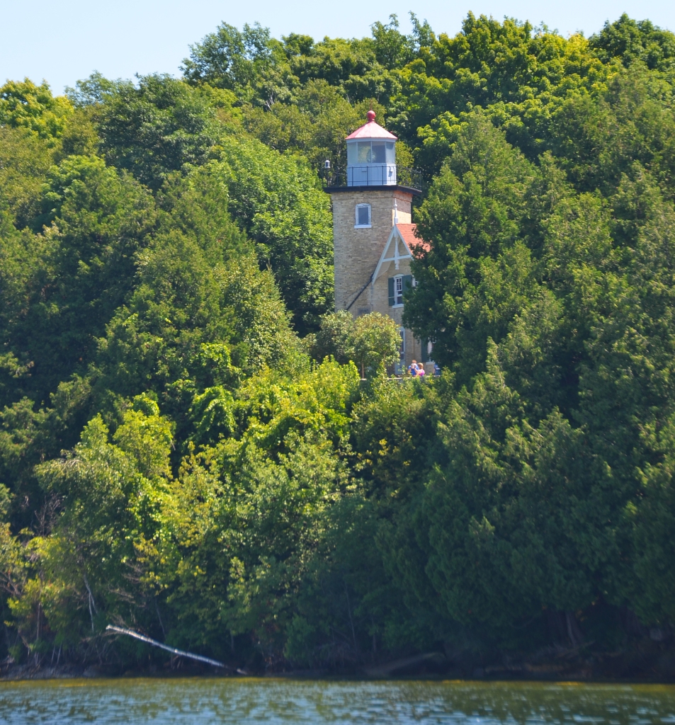 There are 11 lighthouses in Door County, the oldest built in 1836, with four of them open for tours