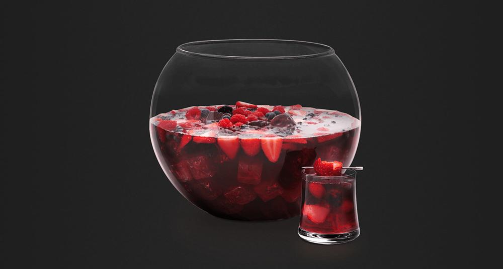 Black Berry Sangria. Photo: Hennesy.