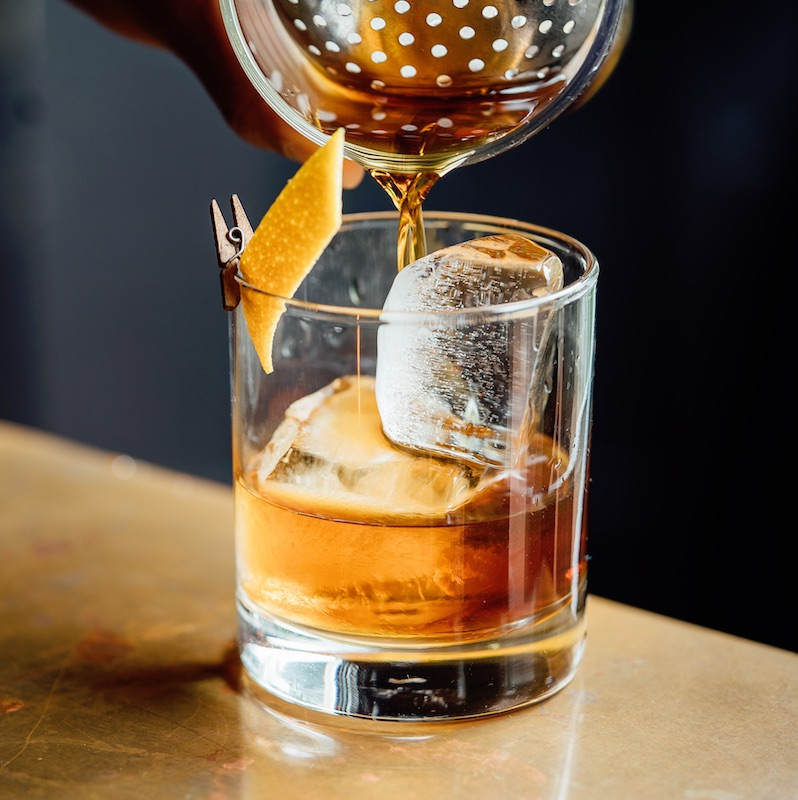 Update this classic drink for fall by substituting rum instead of whiskey, bourbon, or rye.