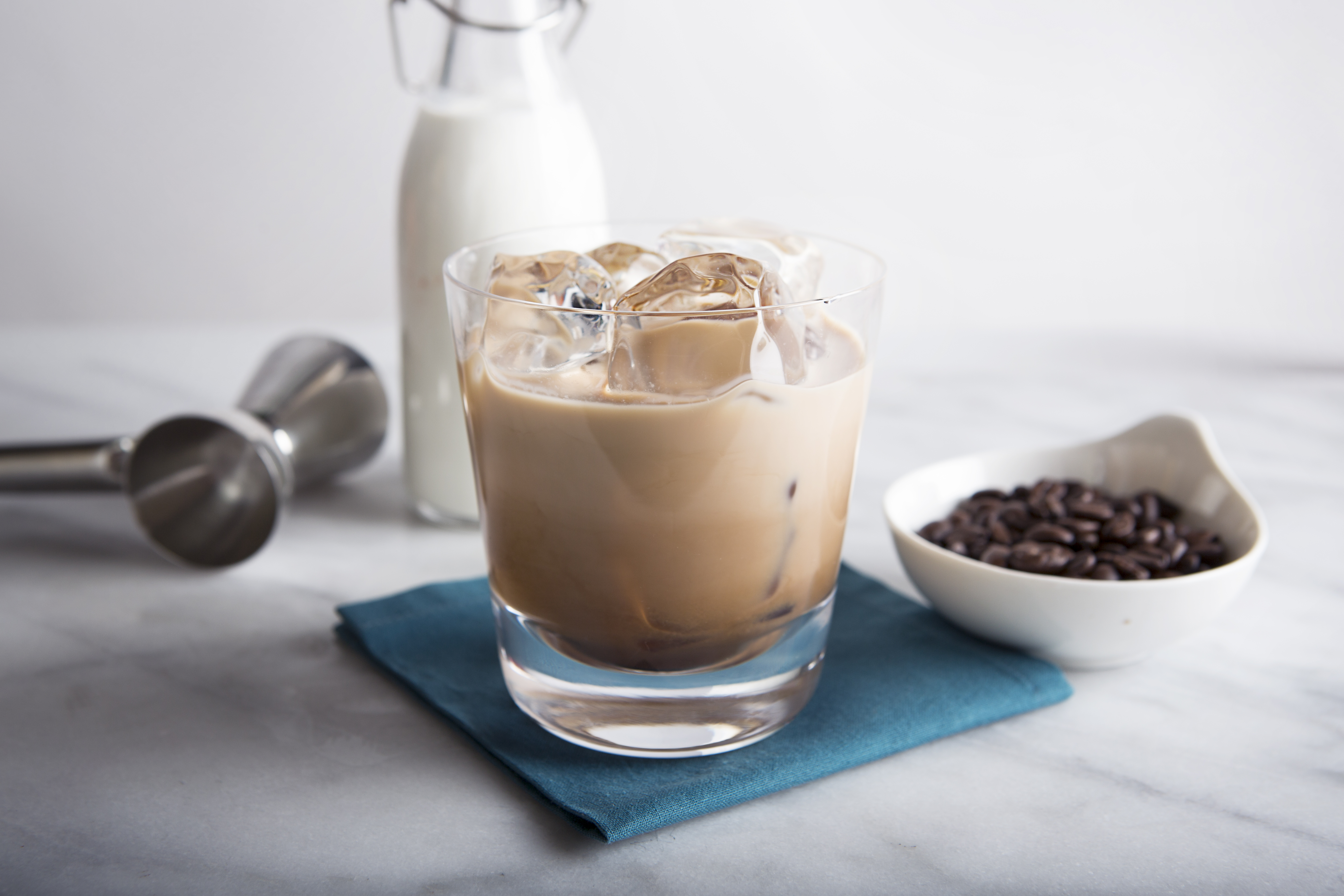 The Double Dutch Russian is a blend of of double espresso and nero espresso vodkas, along with half and half.