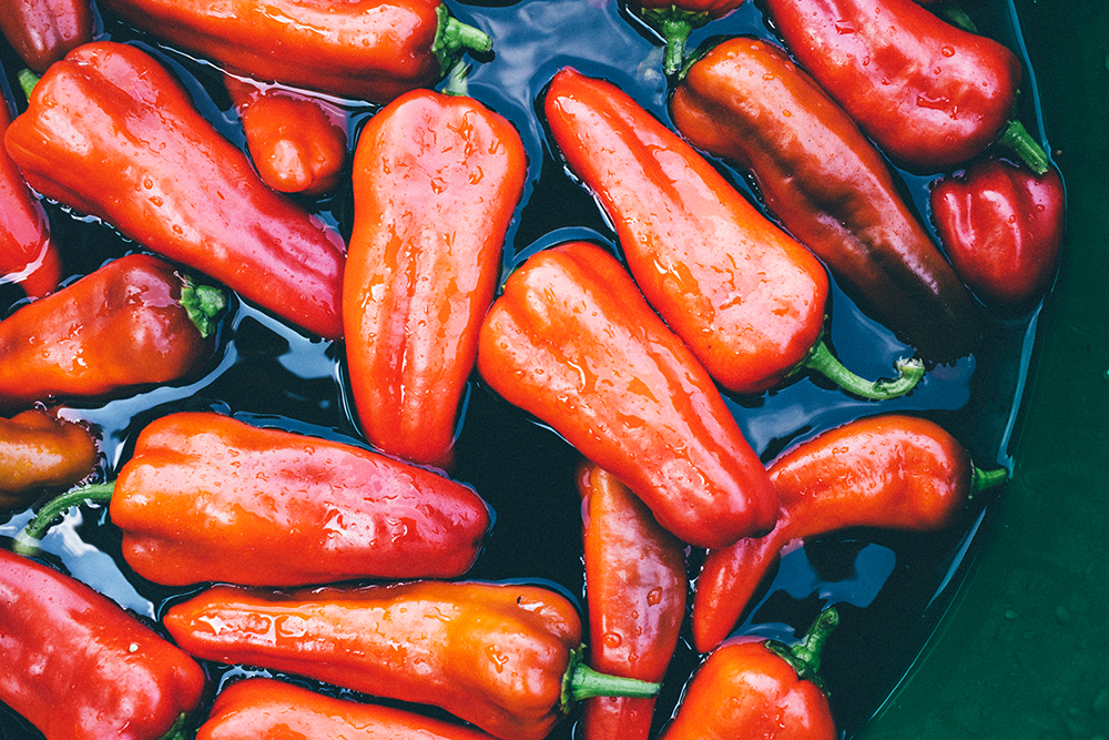 Roasted peppers freeze and defrost surprisingly well, especially when frozen in single layers individually, and once frozen, peppers can be stacked in layers or stored in freezer bags, which help save space.
