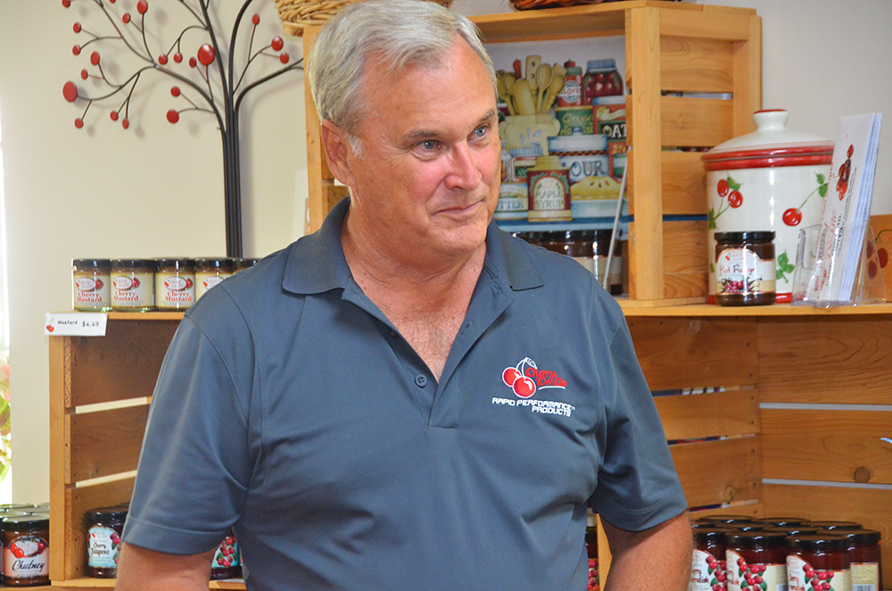 Mike Johnson, chief executive officer of Cherry De-Lite in Door County Wisconsin shares the many health benefits of cherries.