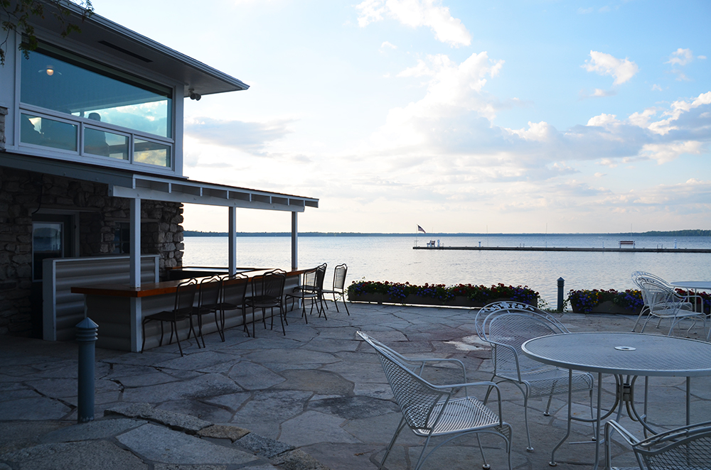This is where we had some of the finest food Door County provides, brought to us by chefs Jerry Zak and Tony Gorham. While the setting is casual, the quality of the food is fine dining at its best.