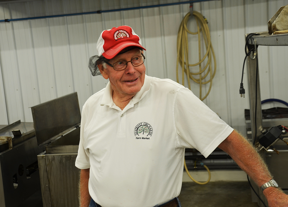 There are a lot of immigration stories in Door County, WI. Dale Seaquist, patriarch of Seaquist Orchards, tells one of the best.