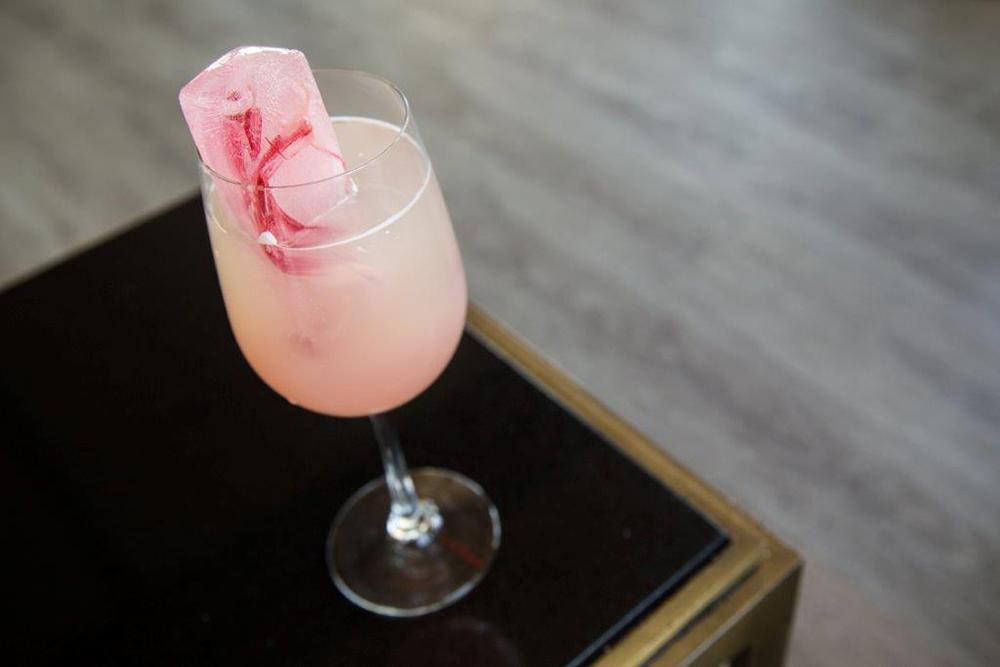 Strawberry Rhubarb Lemonade. Photo: The Skylark.
