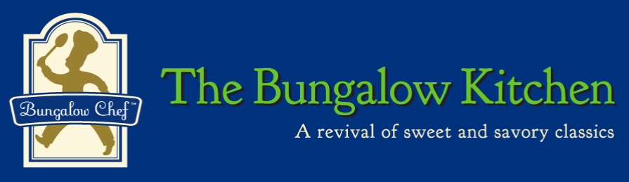 Logo for Michael Mech, The Bungalow Chef.