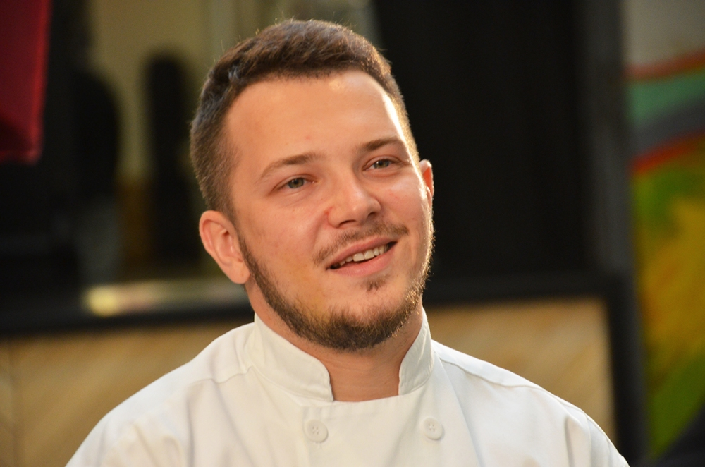 Chef Antoz Abrezov talks about his passion for food.