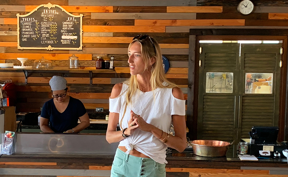 Meet one of our Hawaii tour guides, Katherine, who shared her passion and knowledge of Kaua'i and its commitment to food sustainability.