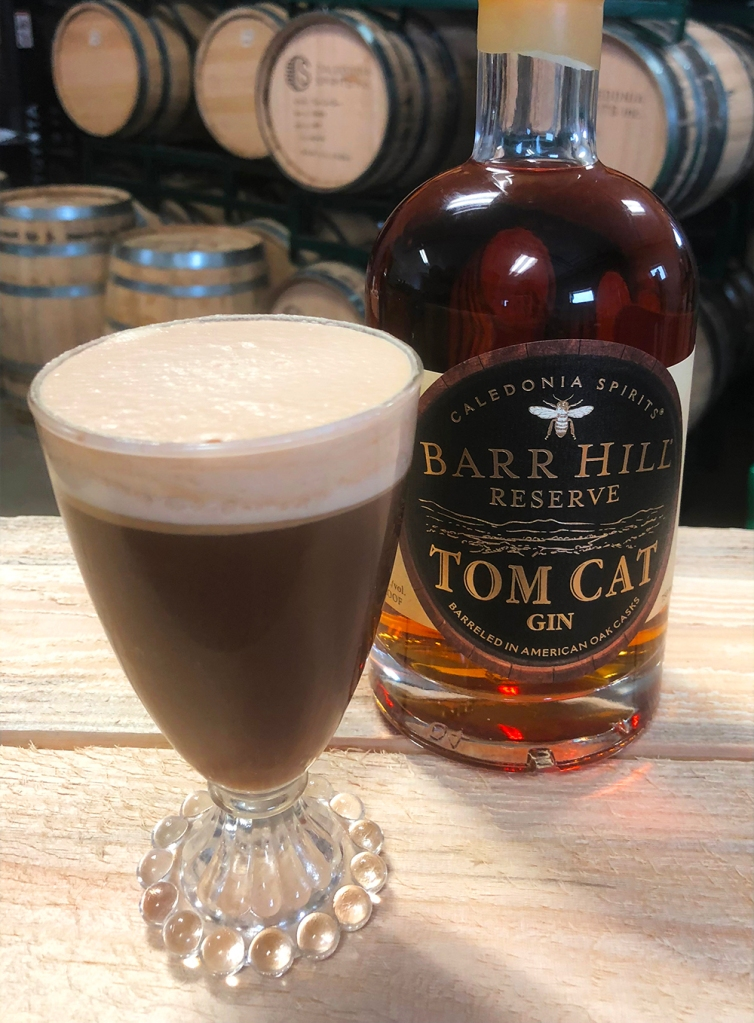 Vermont coffee cocktail made with Barr Hill gin.