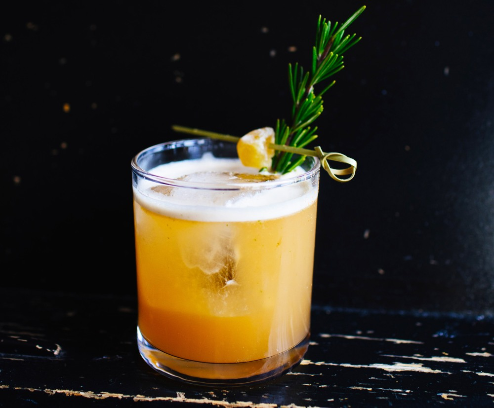 Bill Hayden's Ginger Buck cocktail.
