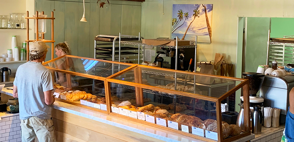There is a bakery in Hanapepe that would surprise you with its menu. Sure, they focus on breads and pastries. But it's what they do with those breads and croissants that makes this place memorable.